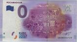Billet touristique 0€ Rocamadour 2016