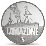 10 euros argent L'Amazone 2013