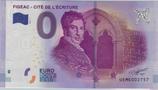 Billet touristique 0€ Figeac Cité de l'écriture 2017