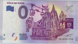 Billet touristique 0€ Koln am Rhein Cathédrale 2017