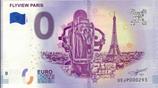 Billet touristique 0€ Flyview Paris 2018