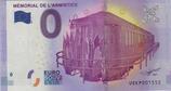 Billet touristique 0€ Mémorial de l'armistice 2017