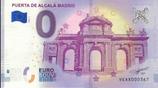 Billet touristique 0€ Puerta de Alcala Madrid 2018