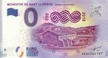 Billet touristique 0€ Monestir de Sant Llorenc Guardiola de Berquieda 2018