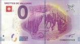 Billet touristique 0€ Grottes de Vallorbe 2018