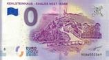 Billet touristique 0€ Kehlsteinhaus Eagles Nest 1834M 2018