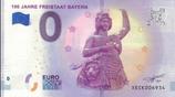 Billet touristique 0€ 100 jahre Freistaat Bayern 2018