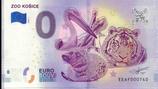 Billet touristique 0€ Zoo Kosice 2018