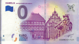 Billet touristique 0€ Hameln 2018