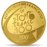 200 euros Tour de France en or  2013 1 oz