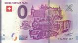 Billet touristique 0€ Swiss vapeur parc 2018