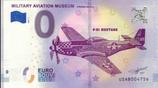 Billet touristique 0€ Military aviation museum 2018