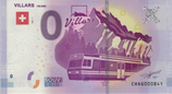 Billet touristique 0€ Villars 150 ans 2017