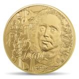 50 euros Jean-Philippe Rameau La musique 2014 en or 1/4 oz
