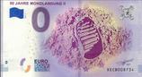 Billet touristique 0€ 50 jahre Mondlandung II 2018