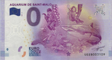 Billet touristique 0€ Aquarium de Saint Malo 2017