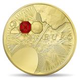 200 euros Excellence à la française Baccarat 2014 en or 1 oz
