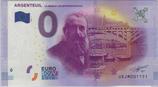 Billet touristique 0€ Argenteuil La Seine et les impressionnistes 2017