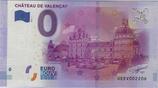 Billet touristique 0€ Chateau de Valençay 2016