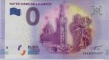 Billet touristique 0€ Notre Dame de la Garde basilique et vierge et l'enfant 2016