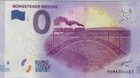 Billet touristique 0€ Mungestener Brucke train vapeur 2017