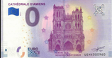 Billet touristique 0€ Cathédrale d'Amiens 2018