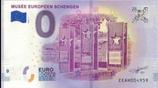 Billet touristique 0€ Musée européen Schengen 2018