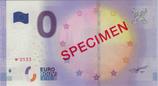 Billet touristique 0€ Specimen 2016