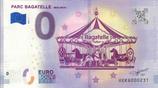 Billet touristique 0€ Parc Bagatelle Merlimont 2018