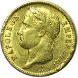 40 francs or Napoléon