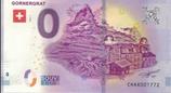 Billet touristique 0€ Gornergrat 2018