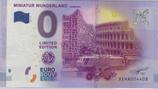 Billet touristique 0€ Miniatur wunderland Hamburg 2017