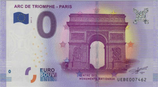 Billet touristique 0€ Arc de triomphe Paris 2017
