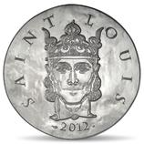 10 euros argent Saint Louis 2012