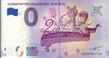 Billet touristique 0€ Cannstatter Volksfest 1818-2018 2018