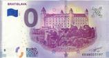 Billet touristique 0€ Bratislava 2018