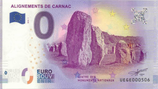 Billet touristique 0€ Alignements de Carnac 2018