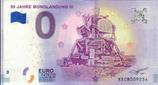 Billet touristique 0€ 50 jahre Mondlandung III 2018