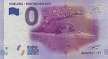 Billet touristique 0€ Koblenz Deutsches Eck 2017