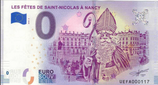 Billet touristique 0€ Les fêtes de Saint Nicolas à Nancy 2018