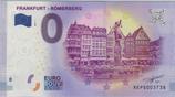 Billet touristique 0€ Frankfurt Romerberg 2017