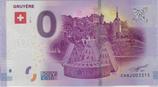 Billet touristique 0€ Gruyère 2017