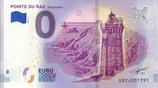 Billet touristique 0€ Pointe du Raz en Cap Sizun 2018