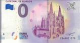 Billet touristique 0€ Catedral de Burgos 2018