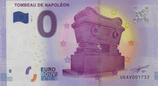Billet touristique 0€ Tombeau de Napoléon 2017