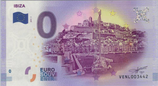 Billet touristique 0€ Ibiza 2017
