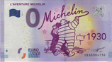Billet touristique 0€ L'aventure Michelin tag 1930 2017