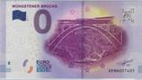 Billet touristique 0€ Mungestener Brucke train moderne 2017