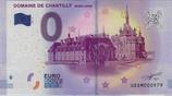 Billet touristique 0€ Domaine de Chantilly Musée Condé 2017