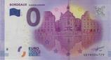 Billet touristique 0€ Bordeaux Place de la bourse 2017
